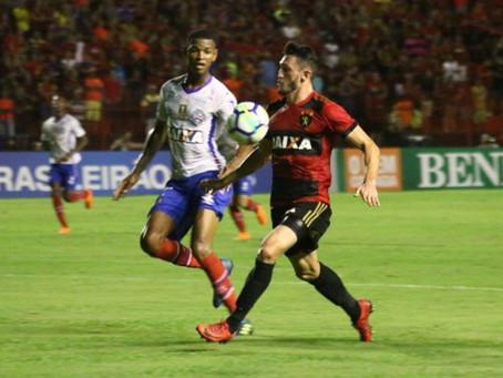 Bahia não consegue fazer gol e perde mais uma