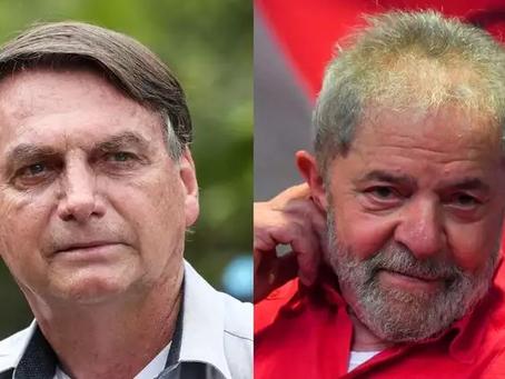 Pesquisa mostra Bolsonaro mais impopular mas ainda vencendo Lula