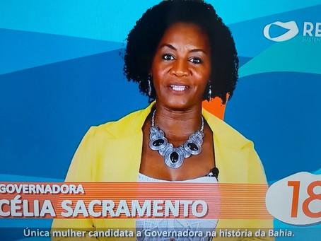 Em 9 segundos Célia Sacramento consegue mentir