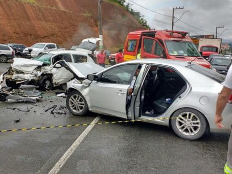 Acidentes de trânsito geram prejuízos de R$ 199 bilhões ao Brasil por ano