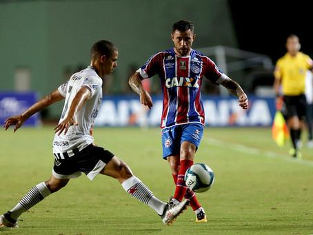 Bahia empata sem gols mas vai às semifinais da Copa do Nordeste