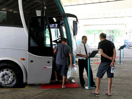 Transporte intermunicipal vai parar no São João. A partir de amanhã lotação máxima já será de 70%