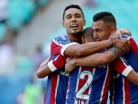 Bahia faz 3 a 0 no Juazeirense e pega o Vitória na decisão
