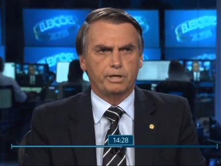 Bolsonaro parte para o confronto contra jornalistas e Rede Globo