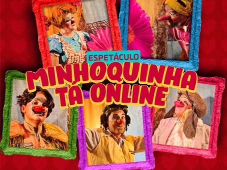 """Maria Minhoca chega ao YouTube como """"Minhoquinha tá online"""""""