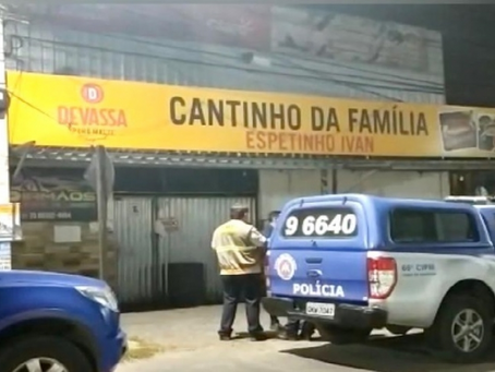 Bar na Artêmia Pires flagrado descumprindo horário na pandemia