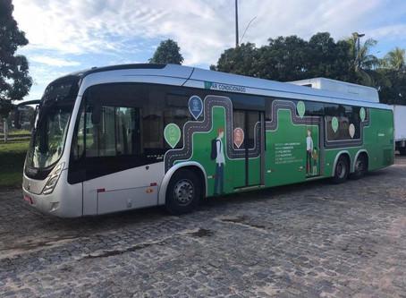 Ônibus elétrico vai começar a circular em Salvador em fase de teste