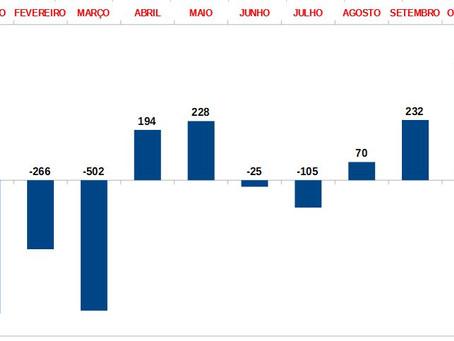 454 vagas formais de emprego foram criadas em Feira em outubro