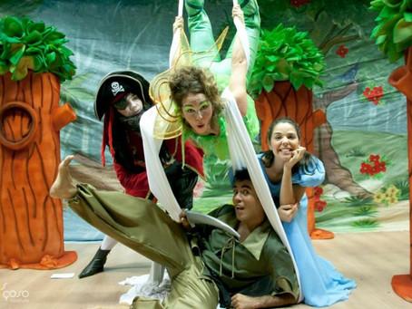 Peter Pan estreia no Domingo Tem Teatro