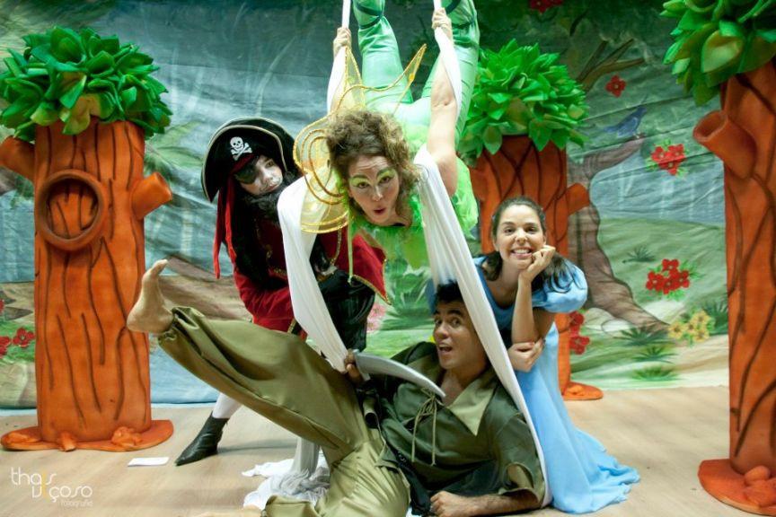 Peter Pan no teatro