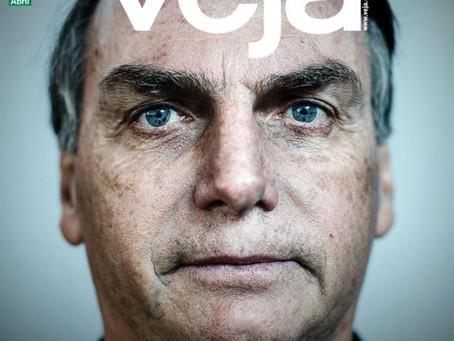 Capa da Veja contra Bolsonaro promove Bolsonaro