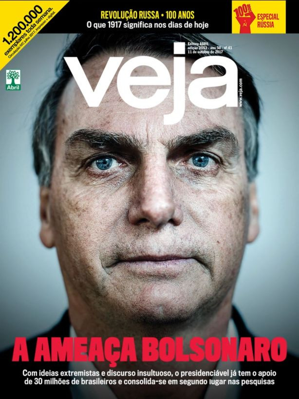 Veja capa Bolsonaro