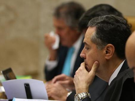 Mudar entendimento sobre prisão após segunda instância é operação abafa, diz Barroso
