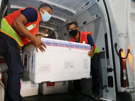 Bahia recebe 178.600 doses de vacina