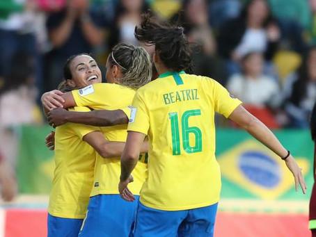 Seleção feminina goleia Venezuela por 4 a 0 na Copa América