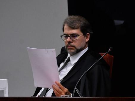 Dias Toffoli propõe restringir foro privilegiado no Judiciário e Executivo