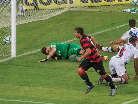 Vitória arranca o empate contra o Vasco, nos descontos