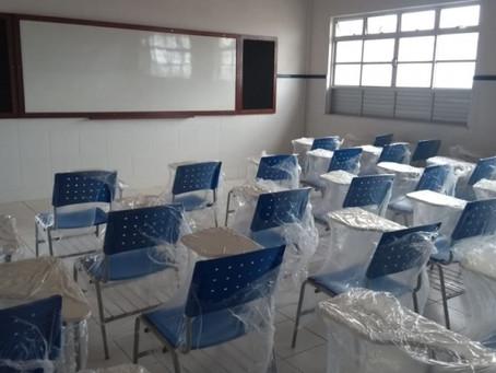 Antes de nunca, Rui Costa inaugura escola no Viveiros
