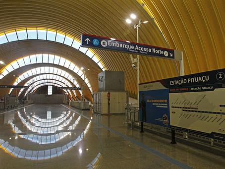 Quatro novas estações do metrô começam a funcionar