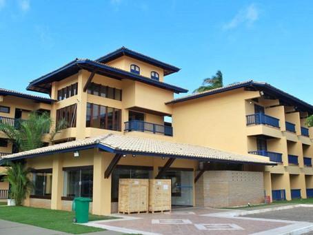 Hotel que virou hospital ano passado será reativado em Lauro de Freitas