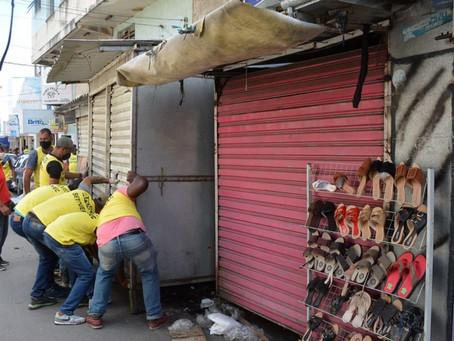 Desembargador suspende remoção de barracas no centro da cidade