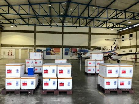 Chegam à Bahia 165 mil novas doses de Coronavac, do Instituto Butantan