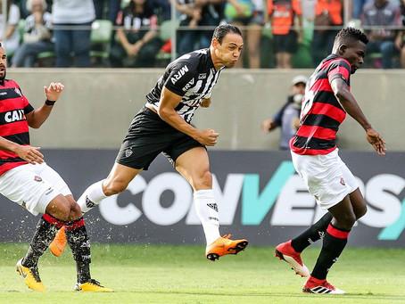 Vitória perde para o Atlético em Minas