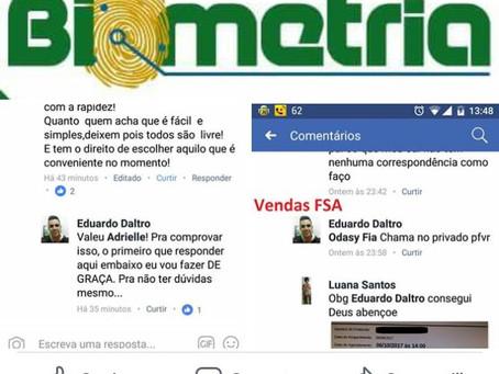Agendamento de biometria no TRE é vendido a R$ 10 e R$ 15 pelo Facebook