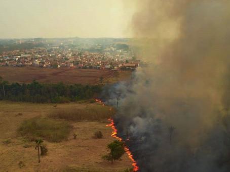 São Paulo pode ter chuva negra devido a fumaça do incêndio no Pantanal