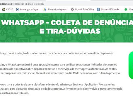 TSE combate fake news aderindo ao WhatsApp
