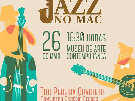 Jazz neste sábado no Museu de Arte Contemporânea