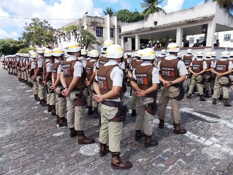 Mais 698 convocados no concurso da Polícia Militar e bombeiros