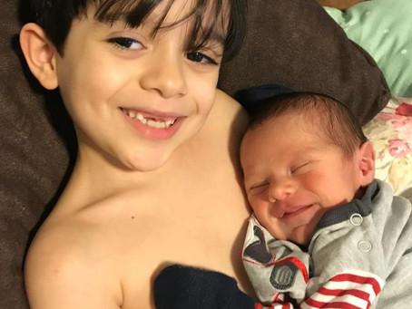 Nasce primeiro bebê feirense imunizado contra covid