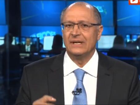 Sobrecarregado de suspeitas, só restou a Alckmin dizer que é tudo mentira