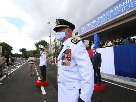 Coronel Coutinho empossado no comando geral da PM da Bahia
