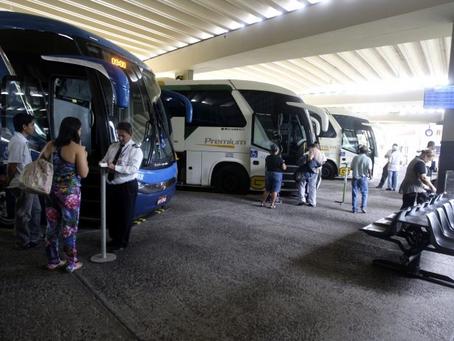 Junho começa com aumento de 6,8% nos ônibus intermunicipais