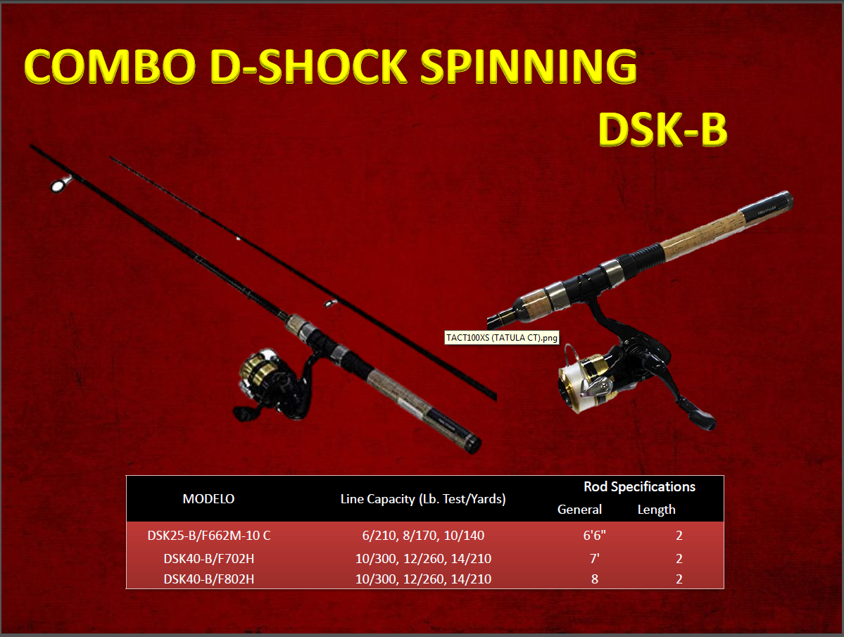 COMBO D-SHOCK SPINNING