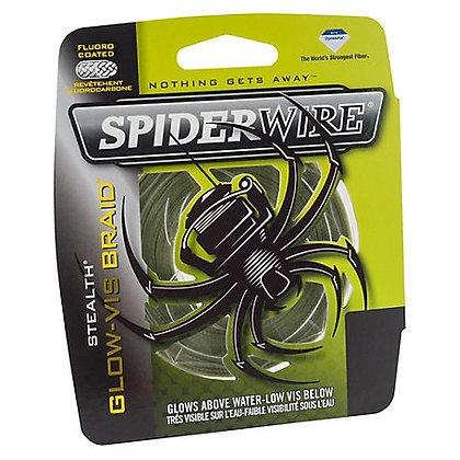 SPIDERWIRE STEALTH GLOW-VIS BRAID