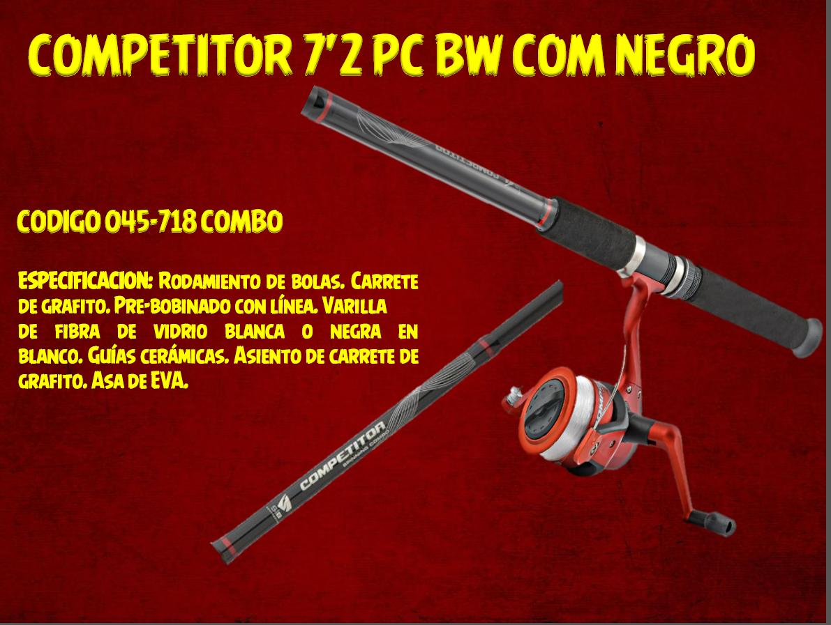 COMPETITOR 7'2 PC BW COM NEGRO