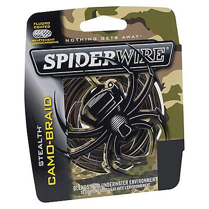 SPIDERWIRE STEALTH CAMO BRAID