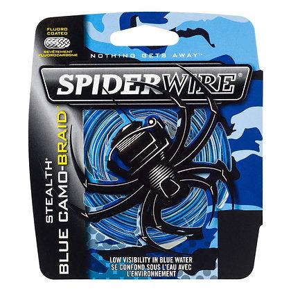 SPIDERWIRE STEALTH BLUE CAMO- BRAID