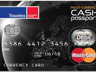 Keep Your Money Secure While Traveling With the TravelEx Cash Passport Card