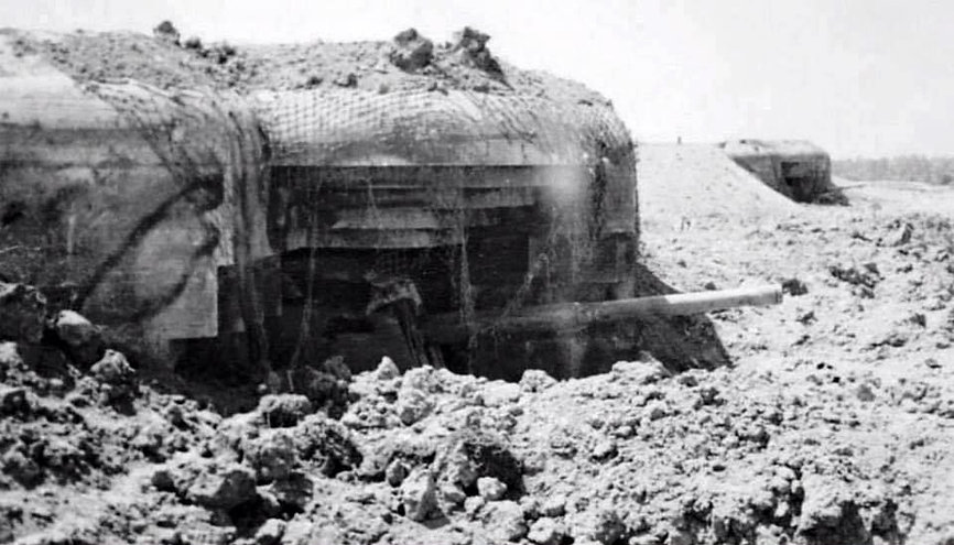 The battery at Longues-sur-Mer