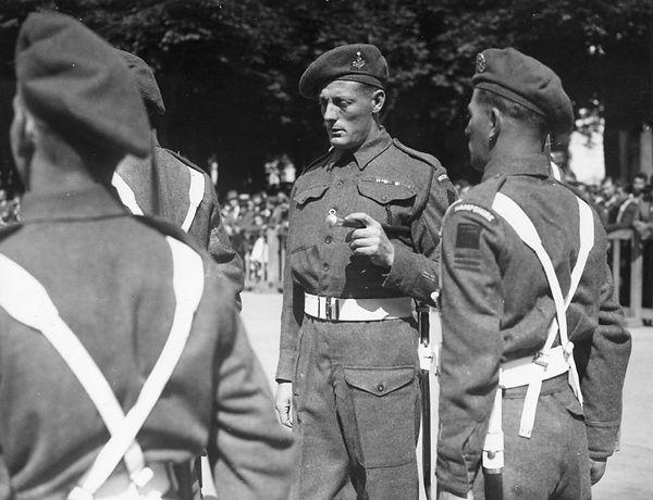 British war hero Stan Hollis