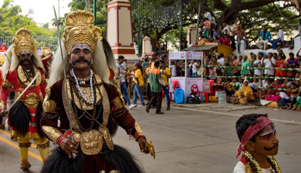 Indian folk performer