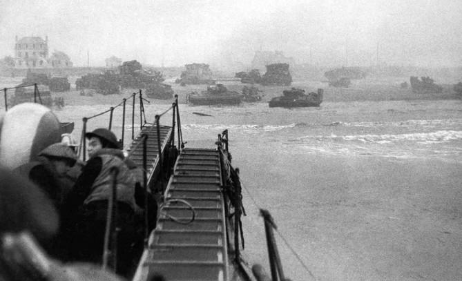 Tanks on the Beach