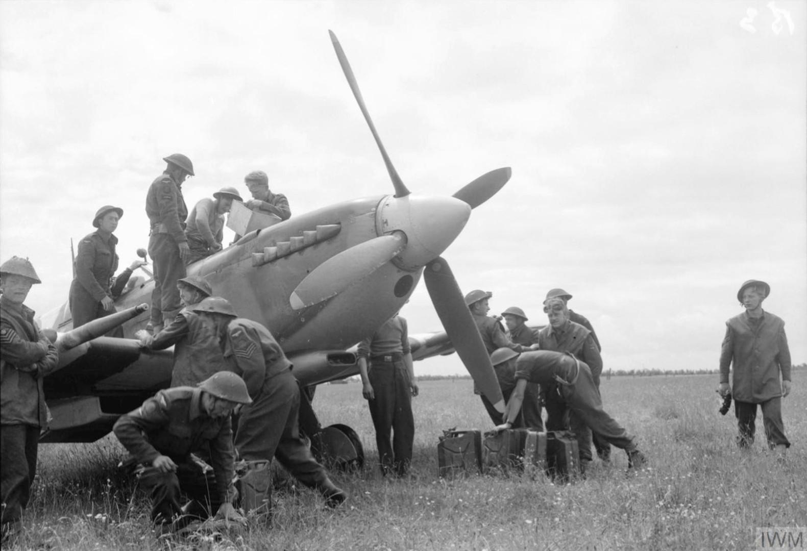 Spitfire at St Croix