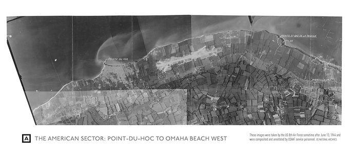 Aerial RG18 Mosaic of Normandy 1 (NARA)_