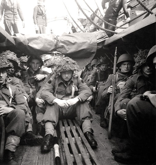 Canadian Scottish troops D-Day