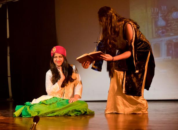 Scheherazade and her sister Dunyazad